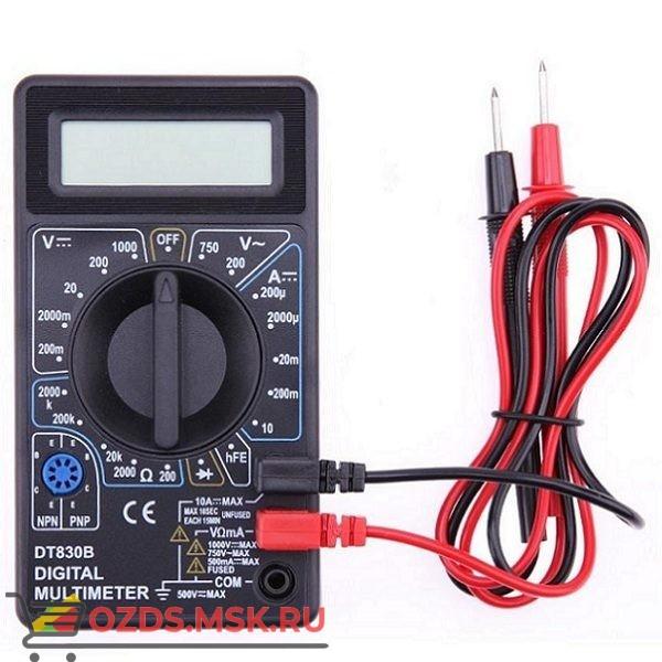 DT830B измерения напряжения, тока, сопротивления: Цифровой мультиметр