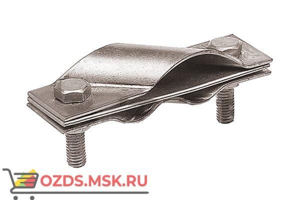 EZETEK 62815 Зажим заземления стержень - полосапруток диагональный, оцинк.