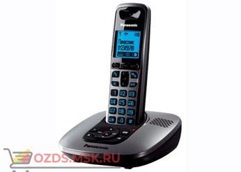 KX-TG6421RUM, цвет серебристы: Беспроводной телефон Panasonic DECT (радиотелефон) с автоответчиком