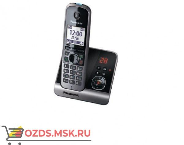 Panasonic KX-TG6721RUB-с автоответчиком, цвет черный: Беспроводной телефон DECT (радиотелефон)