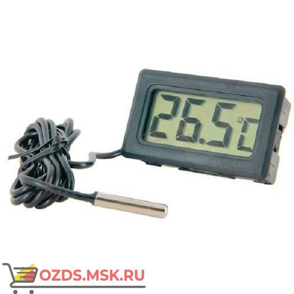 Электронный термометр C0932-01 с выносным датчиком, черный
