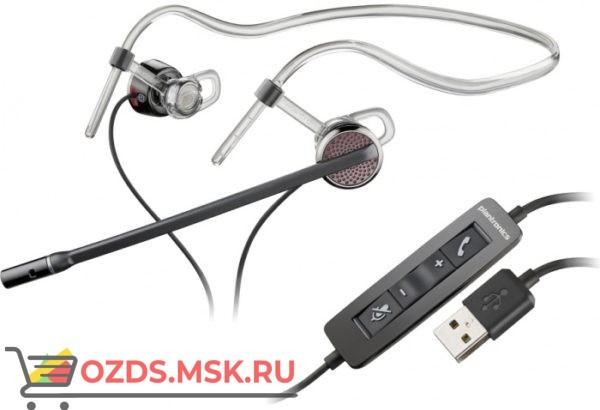Plantronics PL-C435M Black Wire USB: Проводная гарнитура