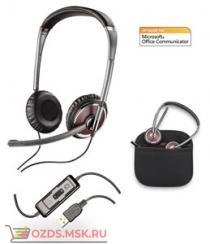 Plantronics PL-C420M для ком. BlackWire UMicrosoft Office Communicator: Мультимедийная гарнитура
