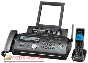 Panasonic KX-FC278RUT Телефакс, термоперенос, цвет темно-серый металлик