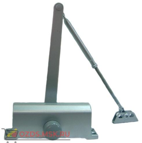 Quantum QM-D740, цвет серебро: Доводчик на дверь весом 65-85 кг