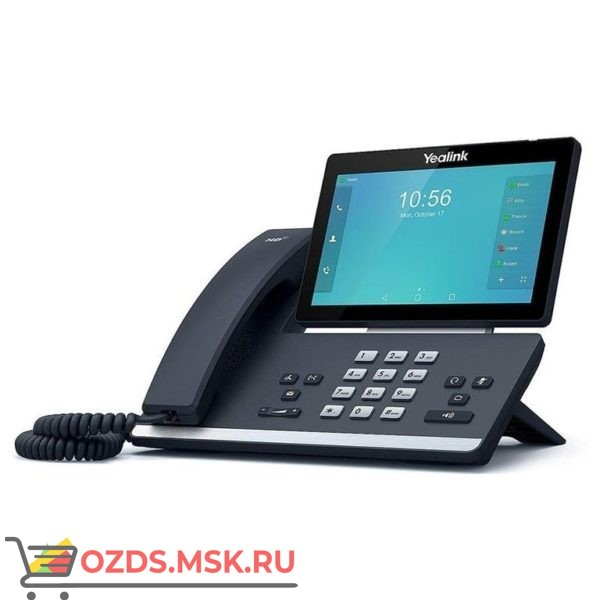 Yealink SIP-T56A IP-телефон под управлением ОС Android | Купить SIP-телефон Yealink SIP-T56A по максимально низкой цене | Yealink SIP-T56A - стоимость, характеристики и описание функций