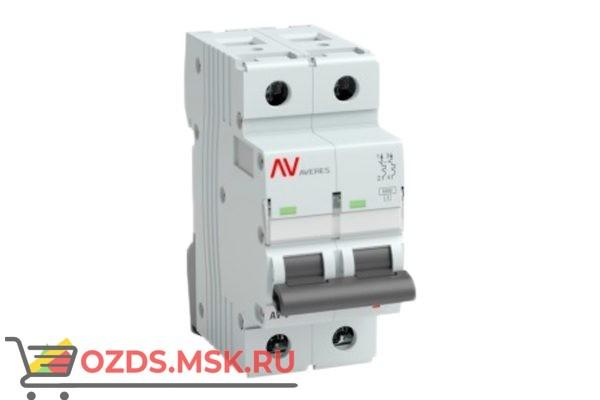 ЭКФ AVERES mcb6-2-10c-av Выкл.автомат.AV-6 2P 10A (C) 6kA