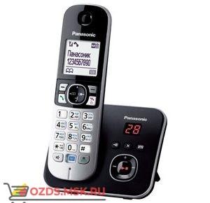 Panasonic KX-TG6821RUB-с автоответчиком, цвет черный: Беспроводной телефон DECT (радиотелефон)