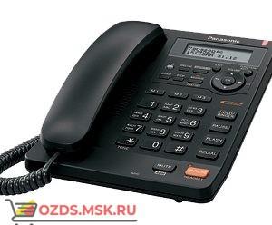 Panasonic KX-TS2570RUB проводной телефон, цвет черный: Проводной телефон