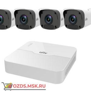 UNIVIEW KIT301-04LB-P44х2122LR3-PF40M-D: Комплект видеонаблюдения