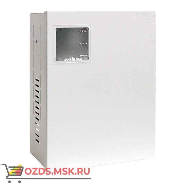 ИПР СКАТ-1200Д исп. 02 Резервированный источник питания 14В 4А под аккумулятор 12В 26 Ач