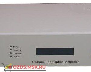 RTM Оптический усилитель WE1550 EDFA-27 (цветной дисплей, SNMP, 1550нм, 27дБм, 500mW, 220В) 4 порта по 20 дБм (H)