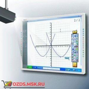 Интерактивная доска 80 IQBoard PS S080В, резистивная технология, USB, RS232, Bluetooth