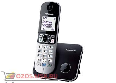 Panasonic KX-TG6811RUB-, цвет черный: Беспроводной телефон DECT (радиотелефон)