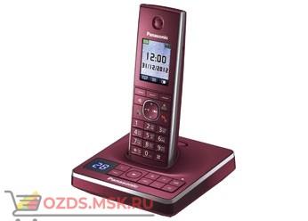 Panasonic KX-TG8561RUR - Беспроводной телефон DECT (радиотелефон) с автоответчиком, цвет Красный