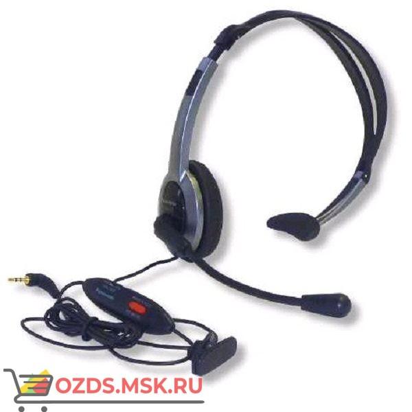 Panasonic RP-TCA430E-S штекер 2,5 мм, регулировка громкости: Гарнитура для проводных и DECT телефонов