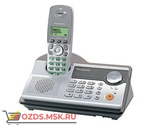Panasonic KX-TCD235RUS, цвет серебро: Беспроводной телефон DECT (радиотелефон)