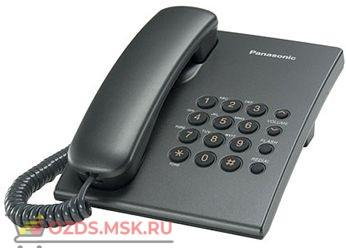 Panasonic KX-TS2350RUT-(цвет титановый): Проводной телефон