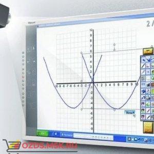 Интерактивная доска 112 IQBoard PS S112B, резисторная технология, USB, RS232, Bluetooth