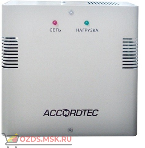 AccordTec ББП-60 12В, 6А: Блок бесперебойного питания