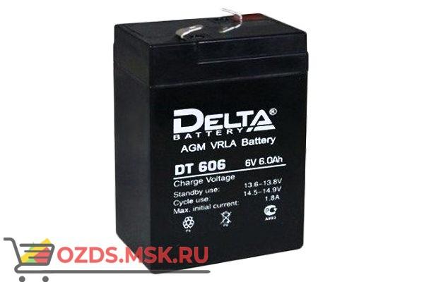 Delta DT 606: Аккумулятор