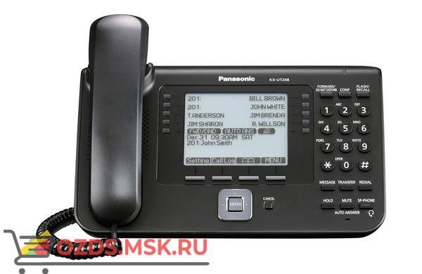 Panasonic KX-UT248RU-B Проводной SIP телефон