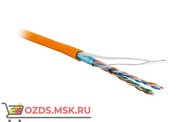 Hyperline FUTP4-C5E-P26-IN-LSZH-OR-100: Кабель