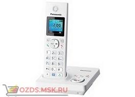 Panasonic KX-TG7861RUW-с автоответчиком, цвет белый: Беспроводной телефон DECT (радиотелефон)