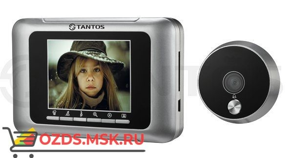 Tantos T-800: Дверной глазок с функцией вызова и возможностью записи фотографий посетителей