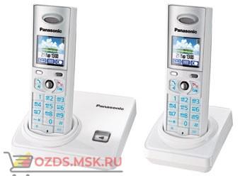 KX-TG8206RUW-, цвет белый: Беспроводной телефон Panasonic DECT (радиотелефон)
