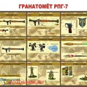 Гранатомет РПГ-7: Плакат