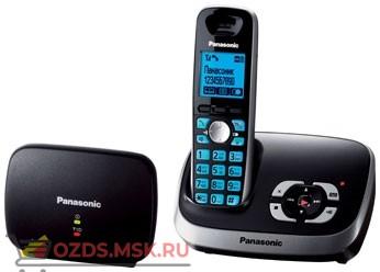 Panasonic KX-TG6541RUB-с автоответчиком, цвет черный: Беспроводной телефон DECT (радиотелефон)