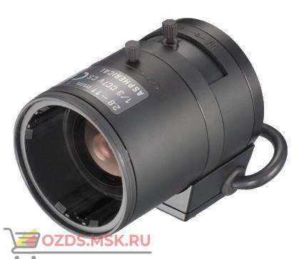 13VG2811ASIR Tamron, 13, АРД, 2.8-11.0 мм, (97.4-26.2)°, DC, F1.4-360, CS: Объектив с ИК-коррекцией