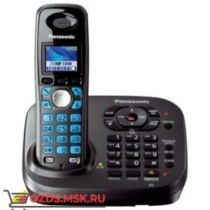 Panasonic KX-TG8041RUT-с автоответчиком, цвет темно-серы: Беспроводной телефон DECT (радиотелефон)
