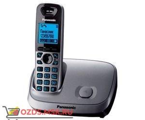 KX-TG6511RUM — , цвет серый металлик: Беспроводной телефон Panasonic DECT (радиотелефон)