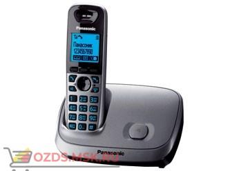 KX-TG6511RUM-, цвет серый металлик: Беспроводной телефон Panasonic DECT (радиотелефон)