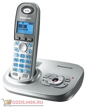 KX-TG7321RUS-, цвет серебристый металлик: Беспроводной телефон Panasonic DECT (радиотелефон)