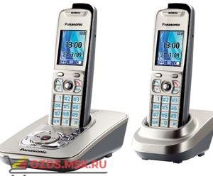 Panasonic KX-TG8422RUN — с автоответч, цвет Платиновый (N): Беспроводной телефон DECT (радиотелефон)