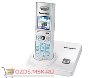 KX-TG8205RUW-, цвет белый: Беспроводной телефон Panasonic DECT (радиотелефон)