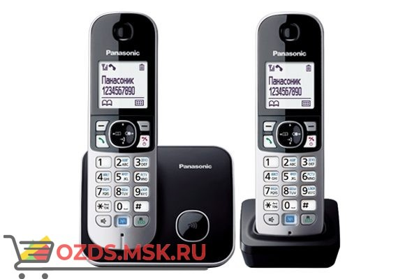 Panasonic KX-TG6812RUB: Радиотелефон