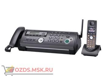 Panasonic KX-FC258RUT Телефакс, термоперенос, цвет серый