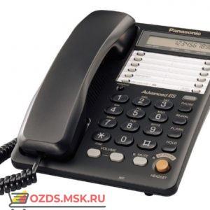 Panasonic KX-TS2365RUB проводной телефон, цвет черный: Проводной телефон