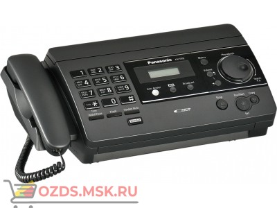 Panasonic KX-FT504RUB: Телефакс, цвет (черный)