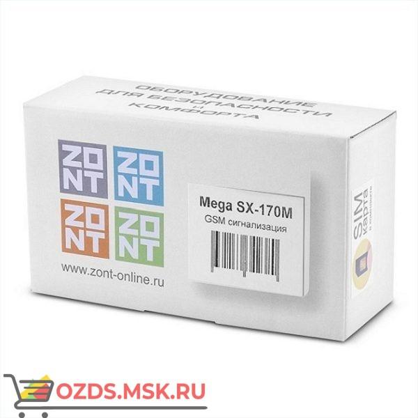 ZONT Mega SX-170M Беспроводная GSM-сигнализация с управлением со смартфона
