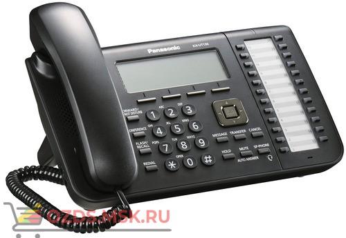 Panasonic KX-UT136RU-B Проводной SIP телефон