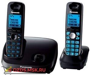 KX-TG6512RU3 — , цвет темно-серый металликчерны: Беспроводной телефон Panasonic DECT (радиотелефон)