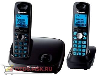 KX-TG6512RU3-, цвет темно-серый металликчерны: Беспроводной телефон Panasonic DECT (радиотелефон)