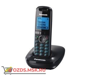 Panasonic KX-TG5511RUB-, цвет черный: Беспроводной телефон DECT (радиотелефон)