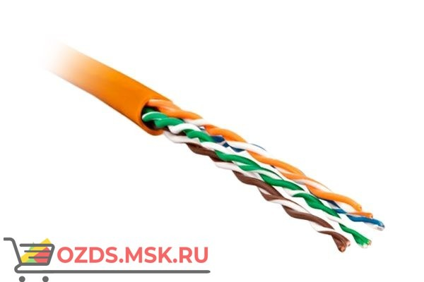 Hyperline UUTP4-C5E-P24-IN-LSZH-OR-100: Кабель