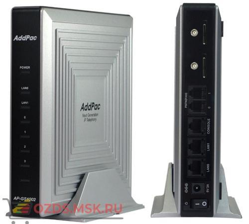 AddPac ADD-AP-GS1002C, 2 GSM канала, 2 порта FXO: VoIP-GSM шлюз